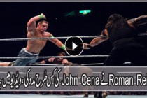 Roman Reigns Saves john Cena & Usos