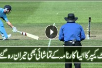 The best run out by any wicket keeper in cricket