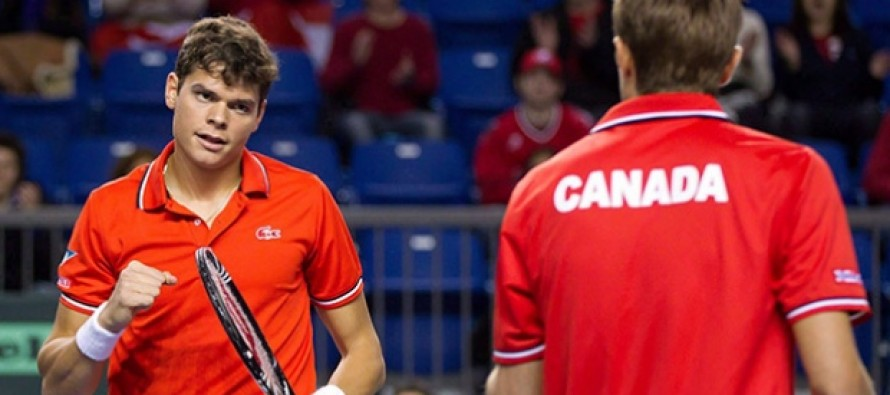Canada's Davis Cup hopes hit as Raonic and Nestor pull out