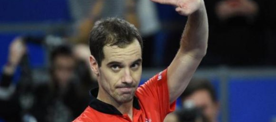 Top seed Gasquet quits Rotterdam with groin injury