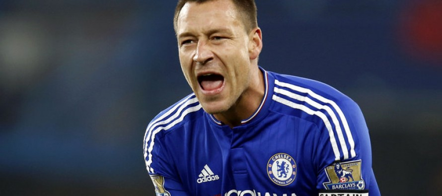 Injured Terry misses PSG Champions League clash