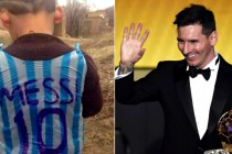 Messi seeks to meet Afghan boy in plastic jersey