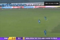 Mohammad Hafeez Slashes It To The Boundary For Four