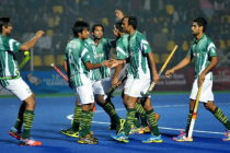 Pakistan Hockey team gets rousing welcome at Lahore airport