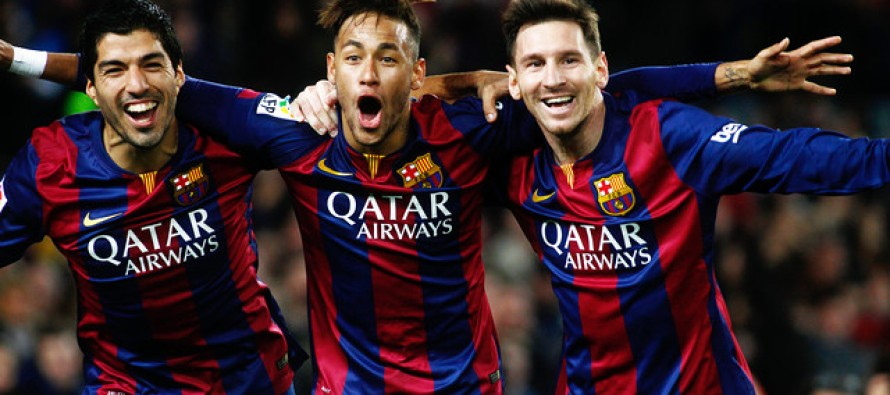 Barca continue title defence at old foes Arsenal