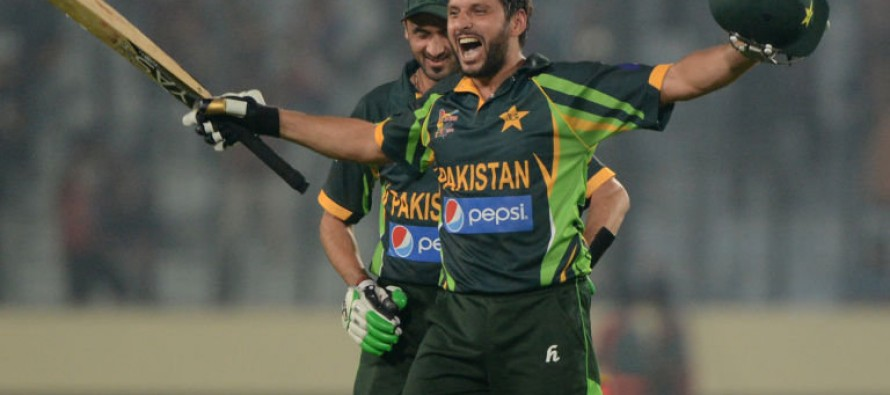 Shahid Afridi Weighing His Decision to Retire