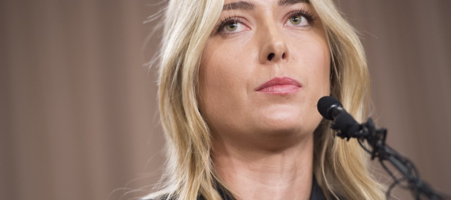 Sharapova confirms failed drug test, sanction uncertain