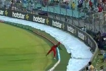 An Amazing catch that ended Hafeez's spectacular inning