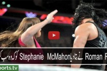 "Roman Reigns reminds Stephanie McMahon that he is the ""authority"" in WWE: Raw, March 21, 2016 WWE  WWE"