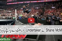 Shane McMahon Brutally Assaults The Undertaker on WWE Raw 28 March 2016