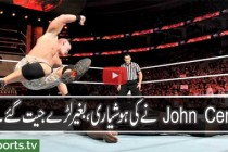 WWE Raw 2016 John Cena Vs Mark Henry