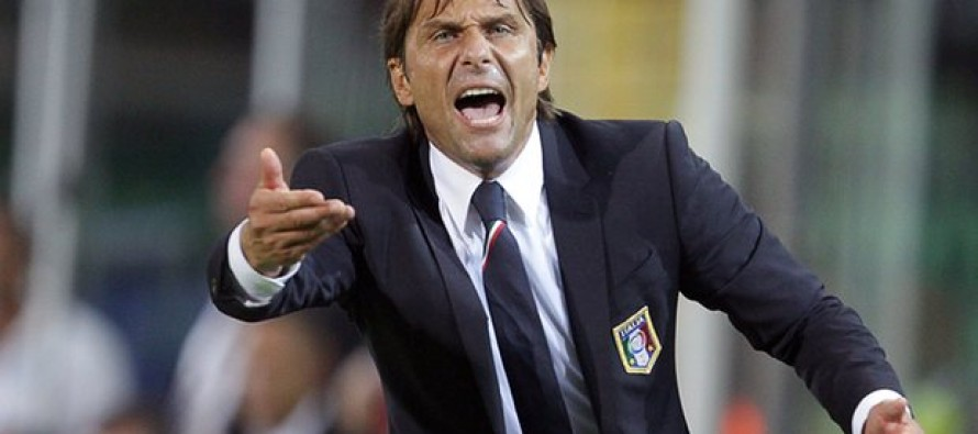 Italy coach Conte to step down, opening up Chelsea move