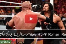 Roman Reigns returns and brings the fight to Triple H: Raw, March 14, 2016
