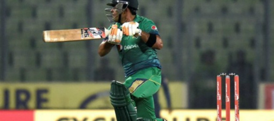 Akmal and Sarfaraz steers Pakistan to a consolation win