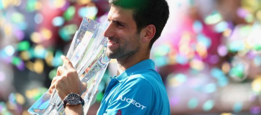 Djokovic captures record 5th Indian Wells title