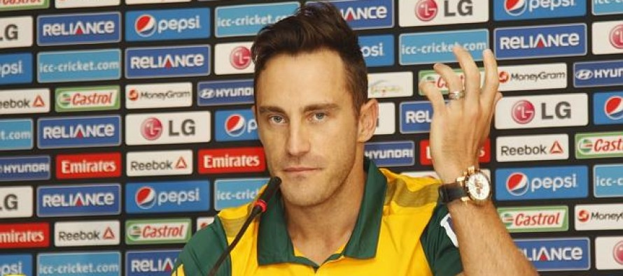 Du Plessis admits chokers tag is 'monkey on back'