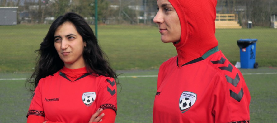 Afghanistan women team to wear 'Hijab'