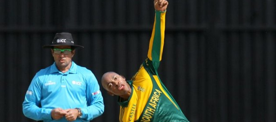 Illegal action hits Phangiso World T20 hopes