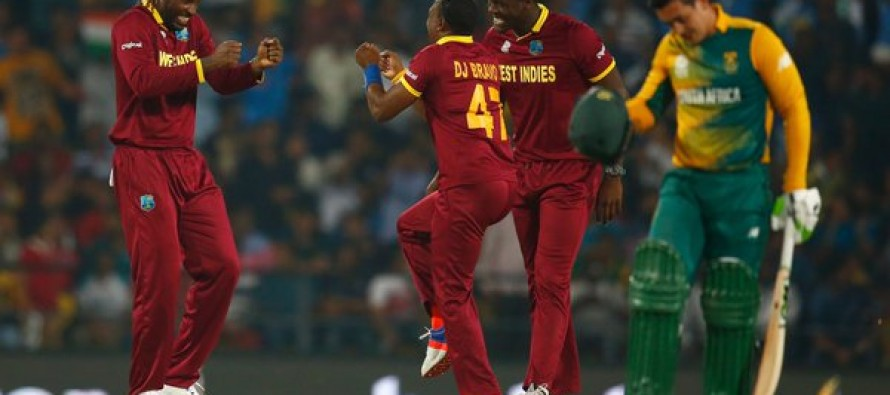 Windies into semis after thrilling win over S. Africa