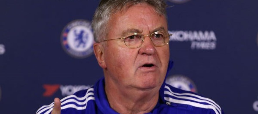 Chelsea hope Hiddink's FA Cup record can save season