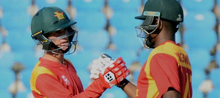 Zimbabwe register second group win in World T20