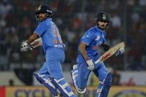 Dhawan and Kohli Win the Sixth Asia Cup for India
