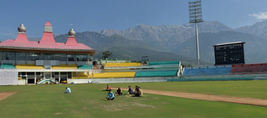 Anti-Terrorist Front threatens to dig up Dharamsala pitch