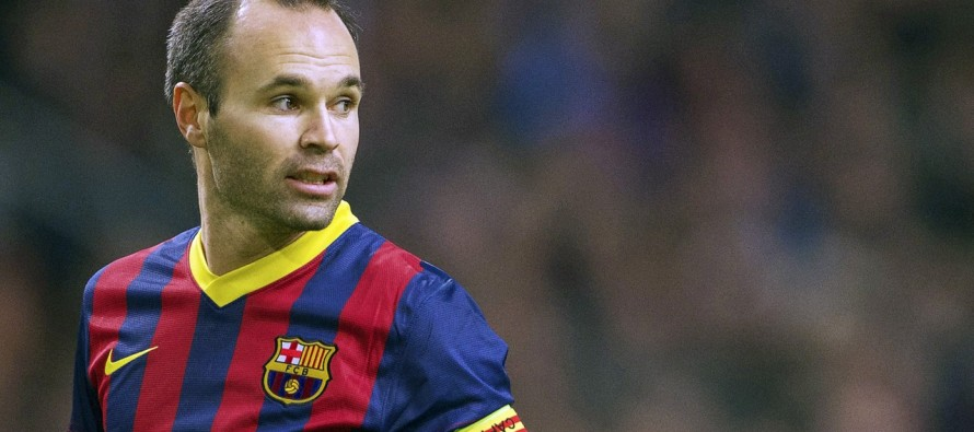Iniesta considers Messi as the best in the world