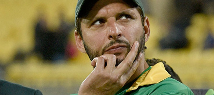 Australia game could be my last, says Afridi