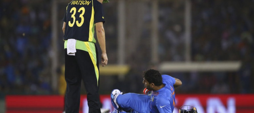 Ankle injury pushed Yuvraj Singh out of the World T20