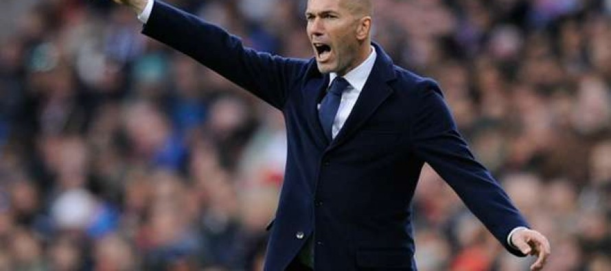 Zidane keen for Madrid to carry on cramping