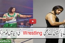 First pakistani in WWE Auditions