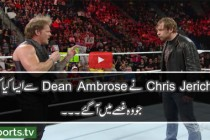 Chris Jericho demands an apology from Dean Ambrose: Raw, April 25, 2016