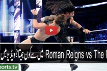 Roman Reigns vs The Miz  April 2016 WWE Raw