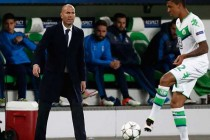 Zidane fuming as Real crash at Wolfsburg