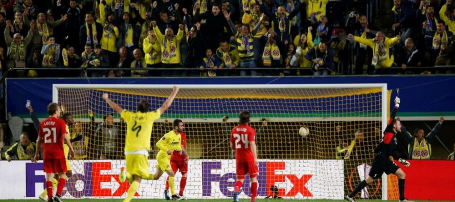 Villarreal strike late to dent Liverpool Europa hopes