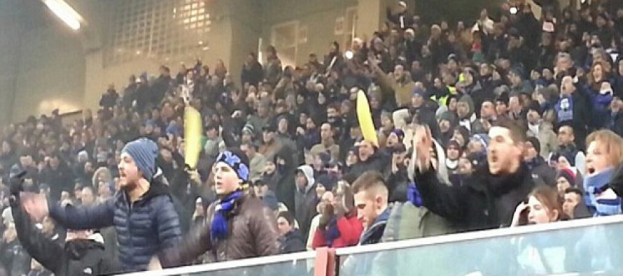 Racist Inter fans force partial stadium ban