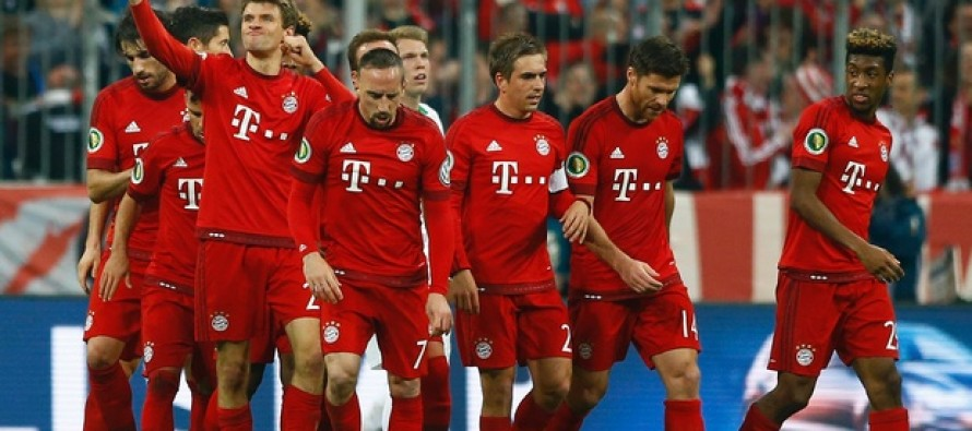 Mueller double puts Bayern in German Cup final