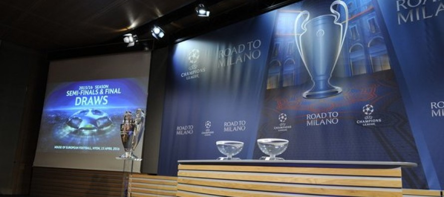 UCL Draw: Real Madrid to face Manchester City