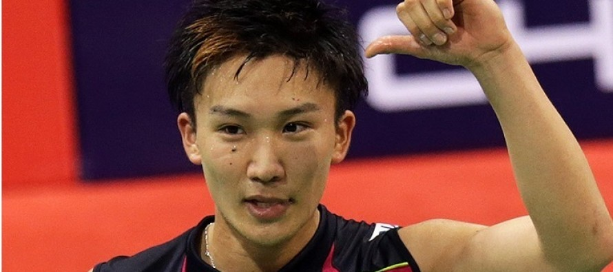Japan ace Momota axed for Rio over illegal gambling
