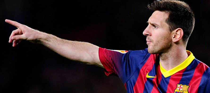 Barca confidence not shaken by blip, insists Messi