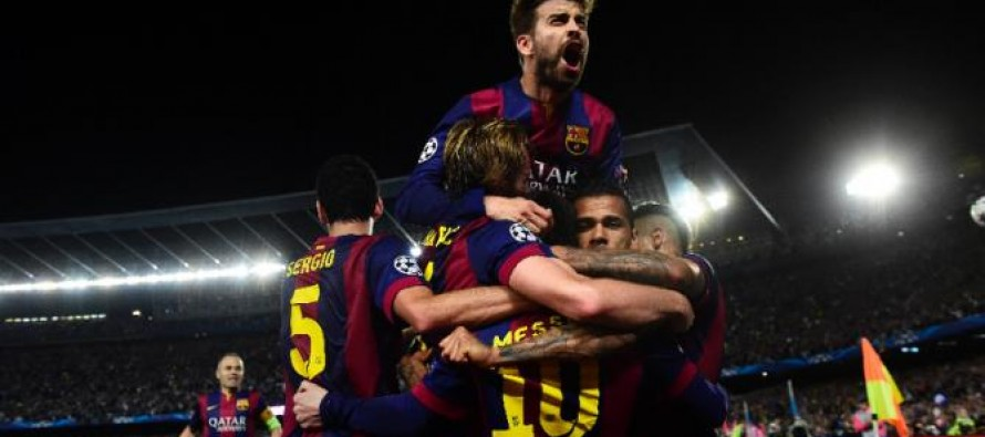 Barca rejuvenated for title run-in