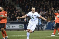 Ibrahimovic fires PSG into French Cup final