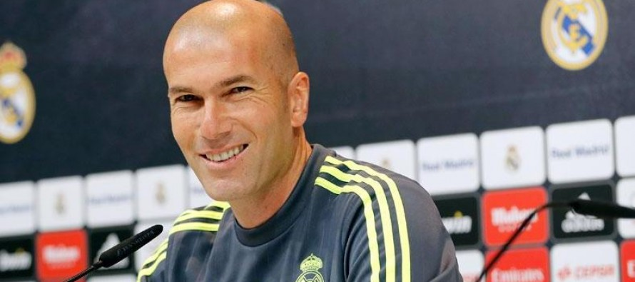 Match against Getafe will be a difficult game says Zidane