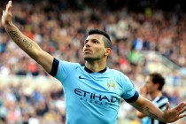 Sergio Aguero might end up in the same league as Ronaldo and Messi
