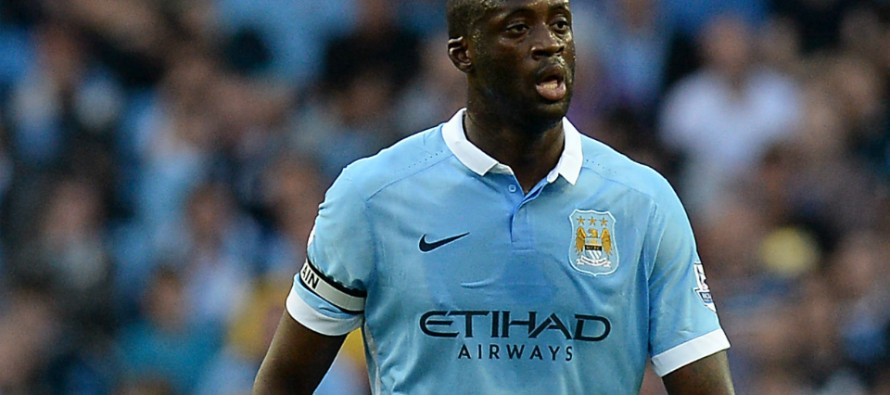 Man City's Toure likely to miss PSG game