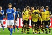 Dortmund down Hertha to face Bayern in cup final