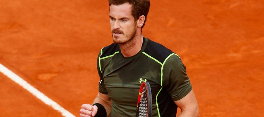 Murray struggles past Paire in Monte Carlo
