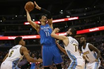 Westbrook banks 17th triple as Thunder rout Nuggets