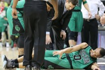 Celtics guard Bradley likely out for remainder of first round